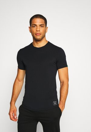 CREW NECK - Undershirt - black