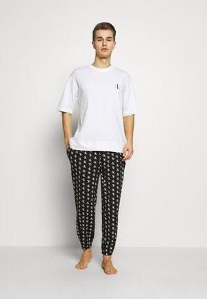 ONE CREW NECK - Pyjamasoverdel - white