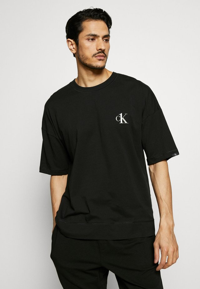 CK ONE CREW NECK - Pyjama top - black