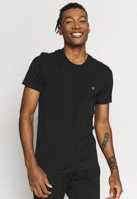 Calvin Klein Underwear - CK ONE CREW NECK 2 PACK - Hemd - black - 2