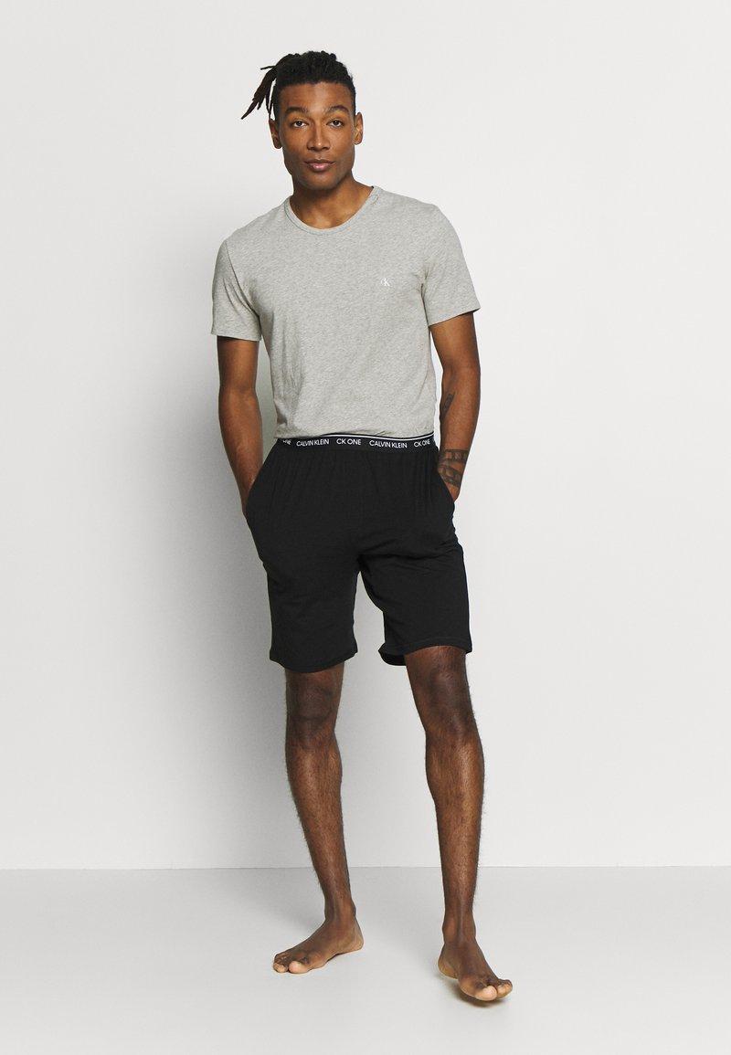 Calvin Klein Underwear - CK ONE CREW NECK 2 PACK - Hemd - black