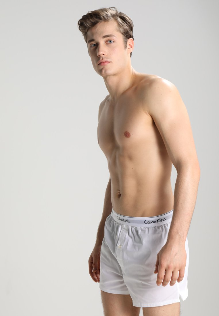 Calvin Klein Underwear - SLIM FIT 2 PACK - Boxershorts - white
