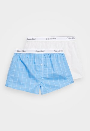 SLIM FIT 2 PACK - Boxer shorts - beige