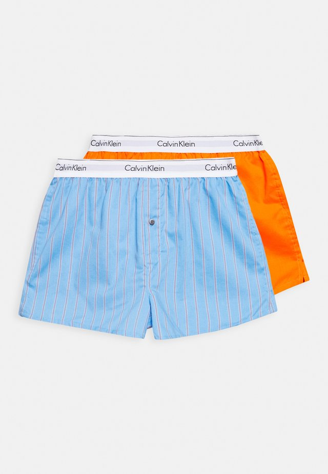 SLIM FIT 2 PACK - Trenýrky - orange