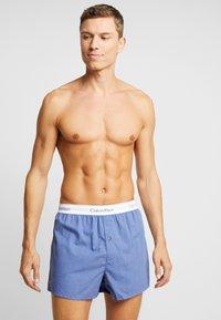 Calvin Klein Underwear - SLIM FIT 2 PACK - Boxer - blue - 1