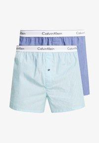 Calvin Klein Underwear - SLIM FIT 2 PACK - Boxer - blue - 3
