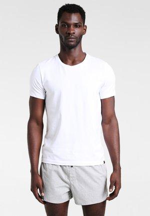 SLIM FIT 2 PACK - Boxer shorts - black/grey