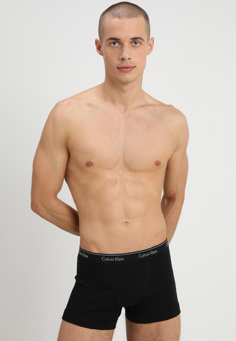 Calvin Klein Underwear - TRUNK 3 PACK - Underkläder - black