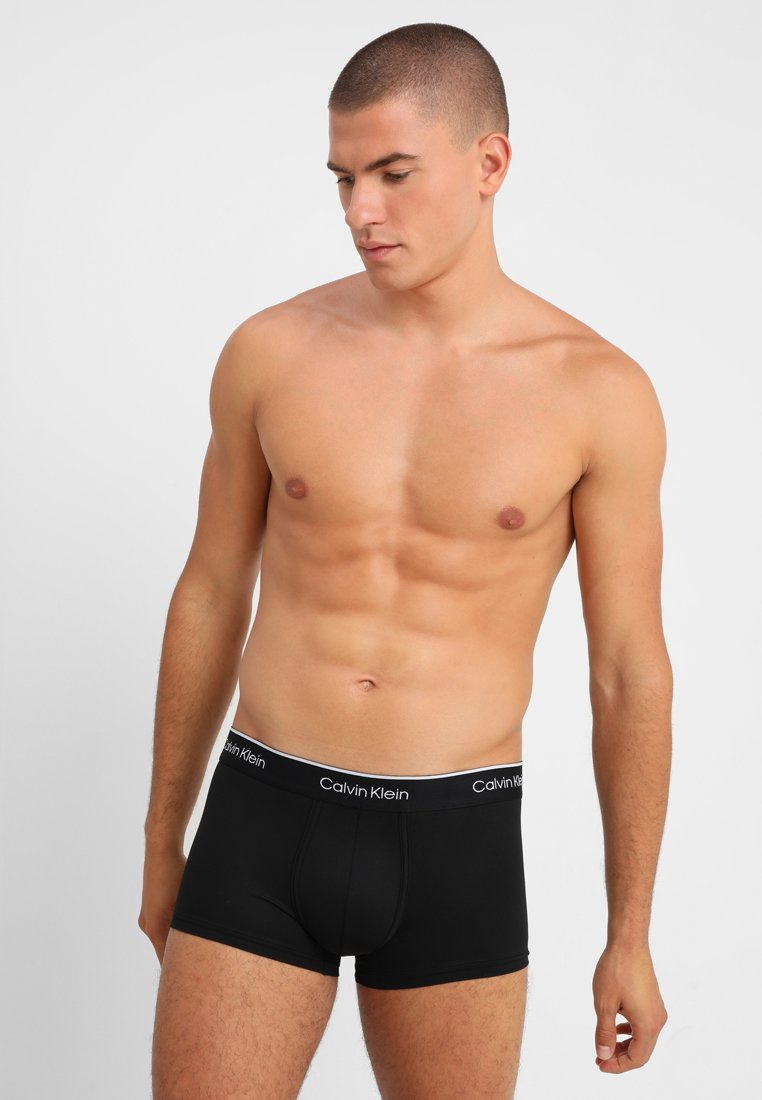 Calvin Klein Underwear - LOW RISE TRUNK 2PK - Shorty - black