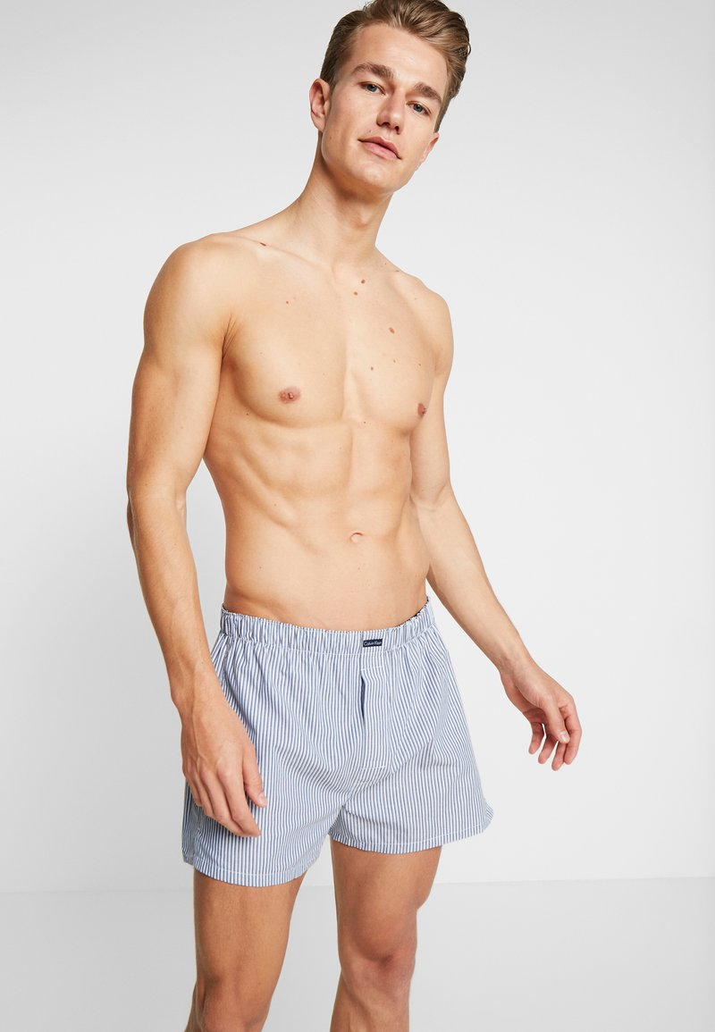 Calvin Klein Underwear - 3 PACK - Boxershorts - blue