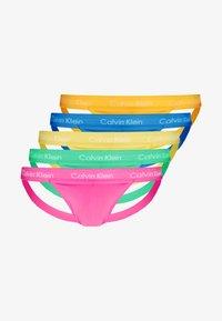 Calvin Klein Underwear - PRIDE JOCK STRAP 5 PACK - Slip - multi-coloured - 0