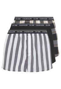 Calvin Klein Underwear - CK ONE SLIM FIT 3 PACK  - Boxershorts - black - 0