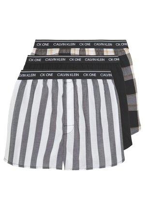 CK ONE SLIM FIT 3 PACK  - Boxershort - black