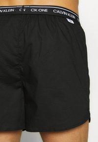 Calvin Klein Underwear - CK ONE SLIM FIT 3 PACK  - Boxershorts - black - 3