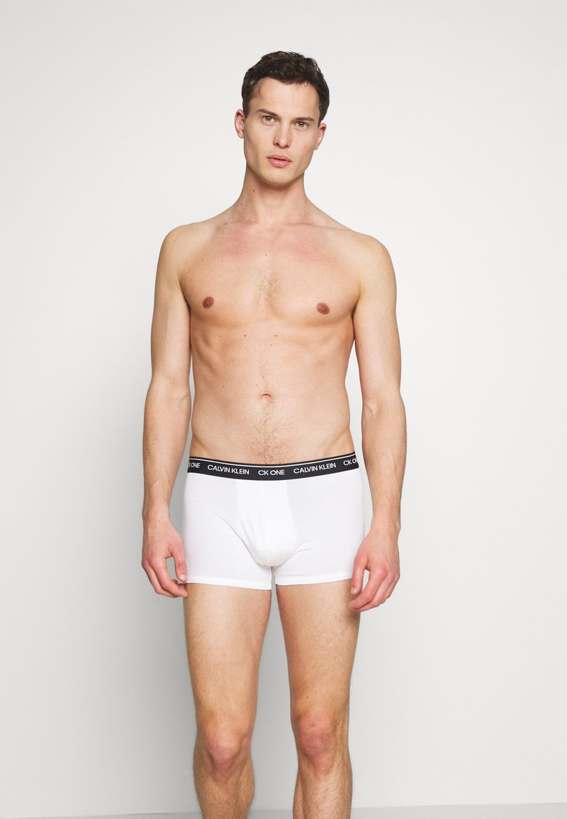 Calvin Klein Underwear - TRUNK 2 PACK - Shorty - white
