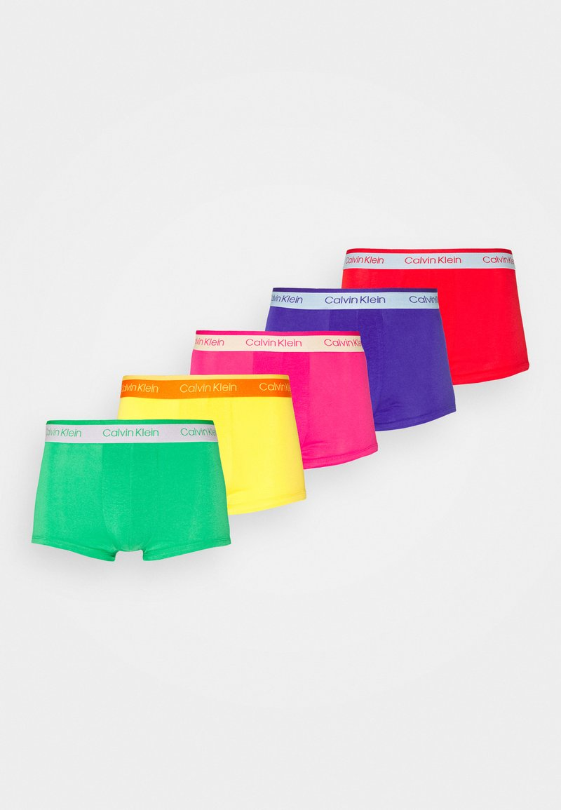 Calvin Klein Underwear - LOW RISE TRUNK 5 PACK - Shorty - pink