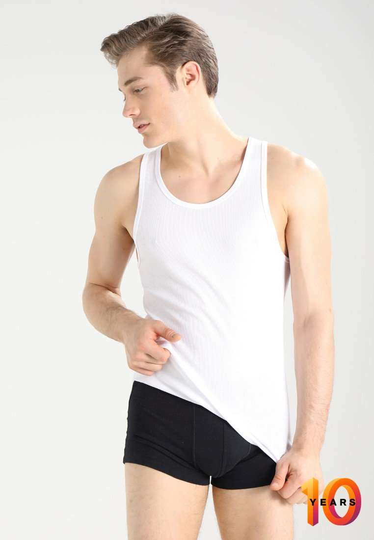 Calvin Klein Underwear - TANK 2 PACK - Unterhemd/-shirt - white
