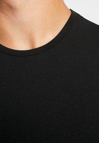 Calvin Klein Underwear - CREW NECK SLIM FIT 2PACK - Maglietta intima - black - 4