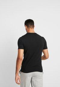 Calvin Klein Underwear - CREW NECK SLIM FIT 2PACK - Maglietta intima - black - 3