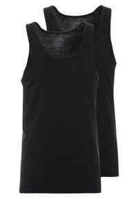 Calvin Klein Underwear - TANK 2 PACK - Podkoszulki - black - 0