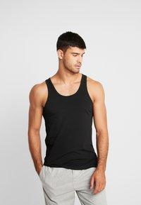 Calvin Klein Underwear - TANK 2 PACK - Podkoszulki - black - 2
