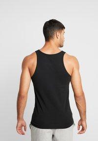 Calvin Klein Underwear - TANK 2 PACK - Podkoszulki - black - 3