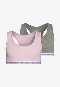 Calvin Klein Underwear - 2 PACK - Bustier - grey heather - 0