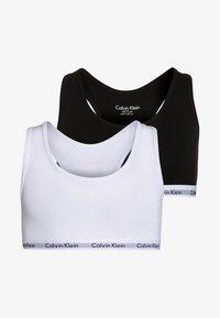 Calvin Klein Underwear - 2 PACK - Bustier - white/black - 0