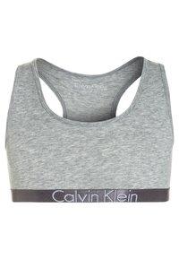 Calvin Klein Underwear - BRALETTE 2 PACK - Korzet - grey heather - 2