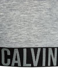 Calvin Klein Underwear - BRALETTE 2 PACK - Bustier - grey heather/black - 4