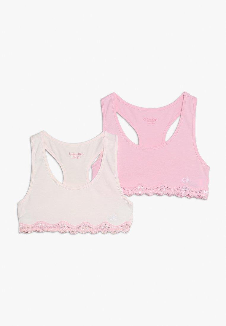 Calvin Klein Underwear - BRALETTE 2 PACK - Bustier - shrinking violet