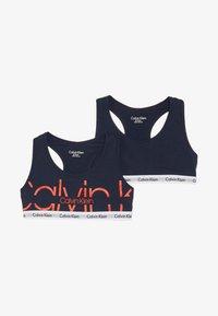Calvin Klein Underwear - BRALETTE 2 PACK  - Korzet - blue - 3