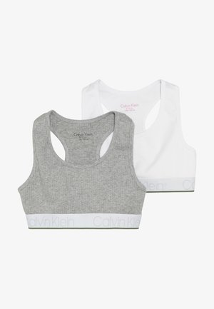 BRALETTE 2 PACK - Korzet - grey
