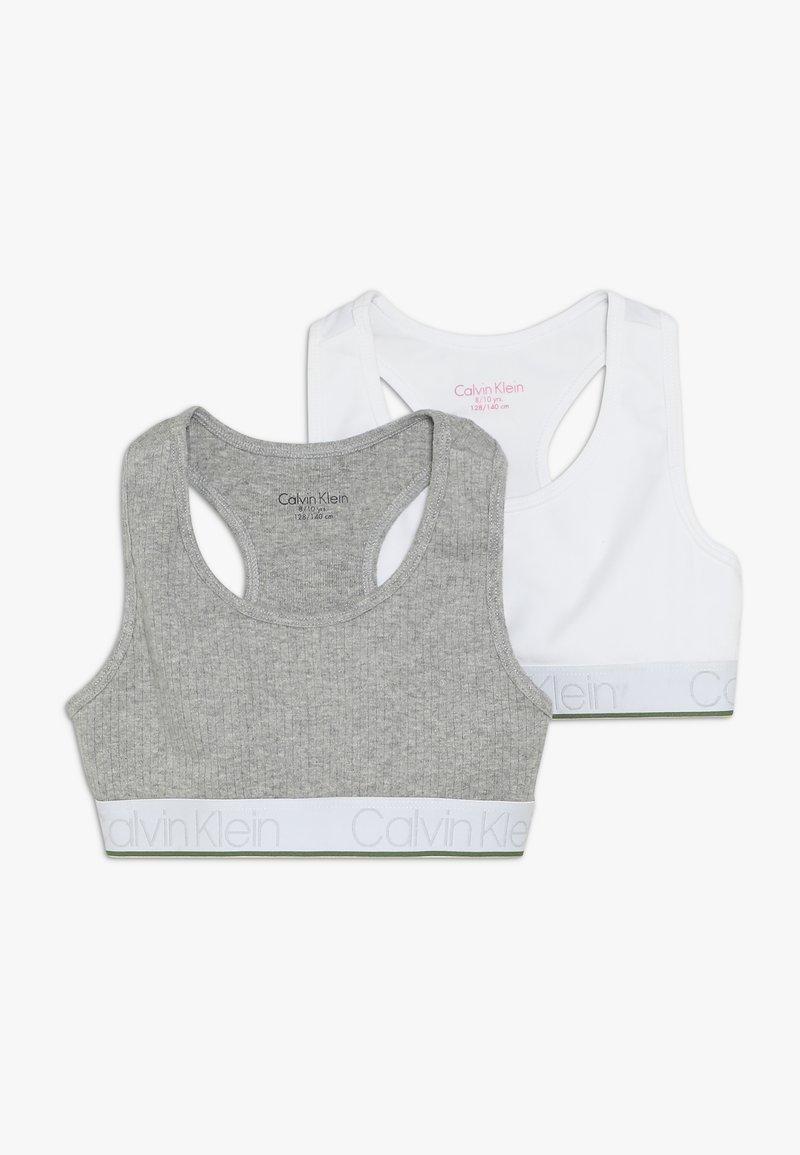 Calvin Klein Underwear - BRALETTE 2 PACk - Top - grey