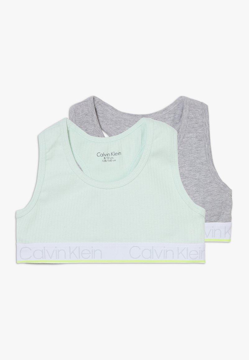 Calvin Klein Underwear - BRALETTE 2 PACK - Korzet - green