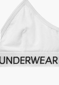 Calvin Klein Underwear - TRIANGLE - Bustier - white - 3
