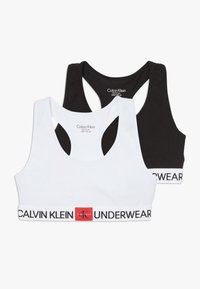 Calvin Klein Underwear - BRALETTE 2 PACK - Bustier - white - 0