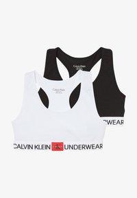 Calvin Klein Underwear - BRALETTE 2 PACK - Bustier - white - 3