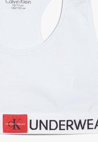 Calvin Klein Underwear - BRALETTE 2 PACK - Bustier - white - 4