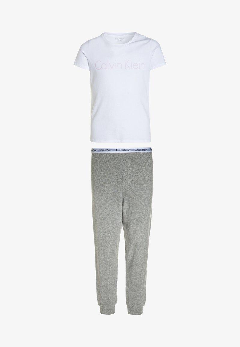 Calvin Klein Underwear - Pyjama set - white/grey heather
