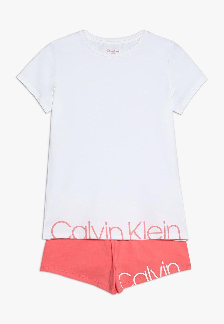 Calvin Klein Underwear - Pijama - white/georgiapeach