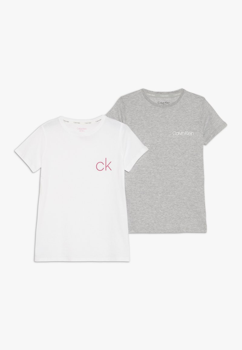 Calvin Klein Underwear - TEES 2 PACK - Pyžamový top - white