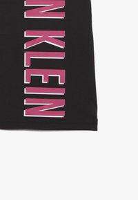 Calvin Klein Underwear - SHIRTDRESS - Noční košile - black - 3