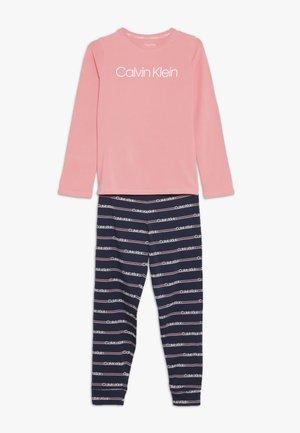 CUFFED SET - Pyžamová sada - pink