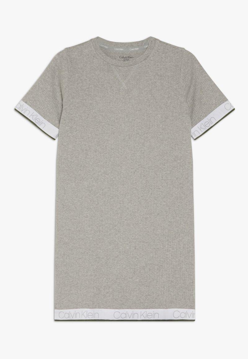 Calvin Klein Underwear - SHIRTDRESS - Noční košile - grey