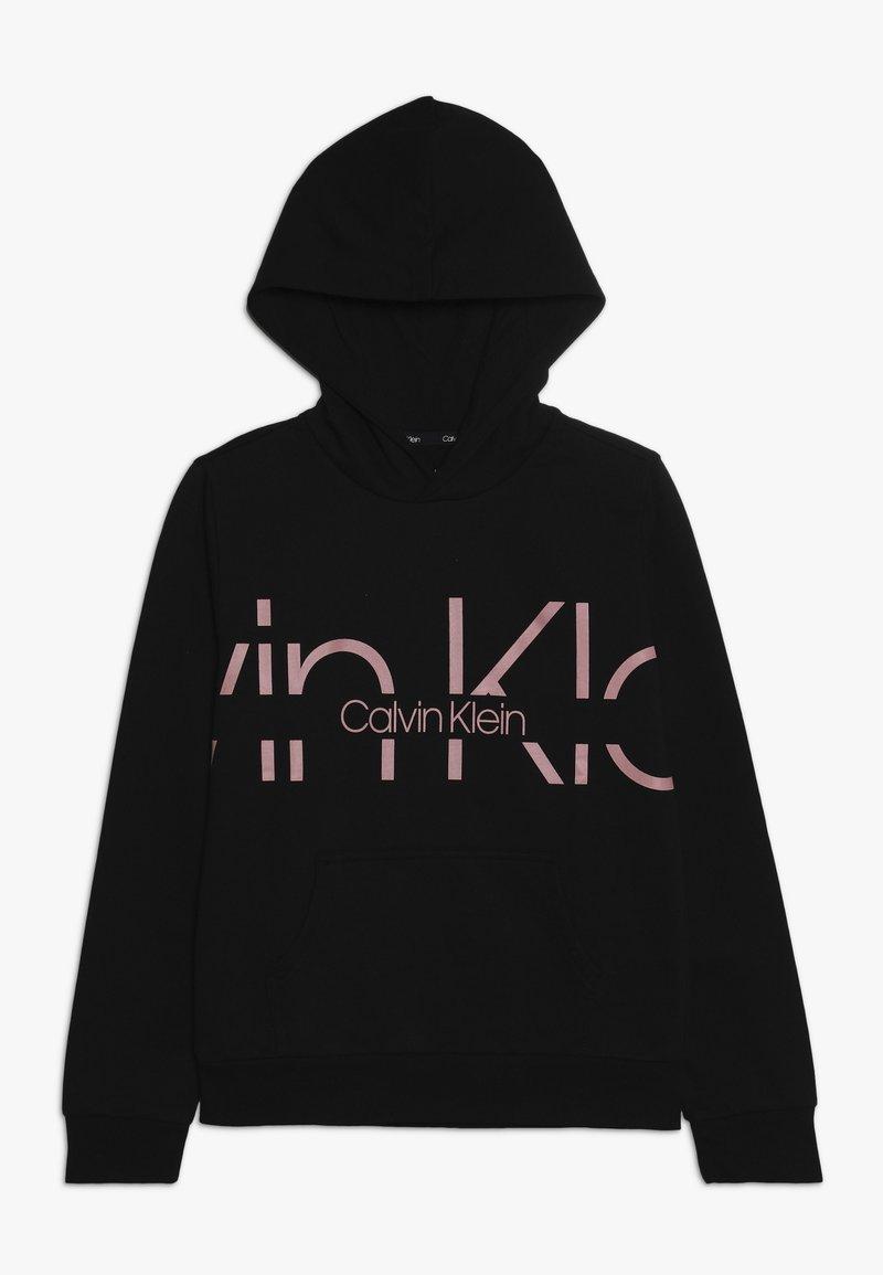Calvin Klein Underwear - PULLOVER CREW NECK HOODIE - Sweat à capuche - black