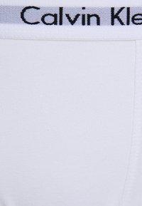 Calvin Klein Underwear - 2 PACK - Pants - white/grey heather - 3