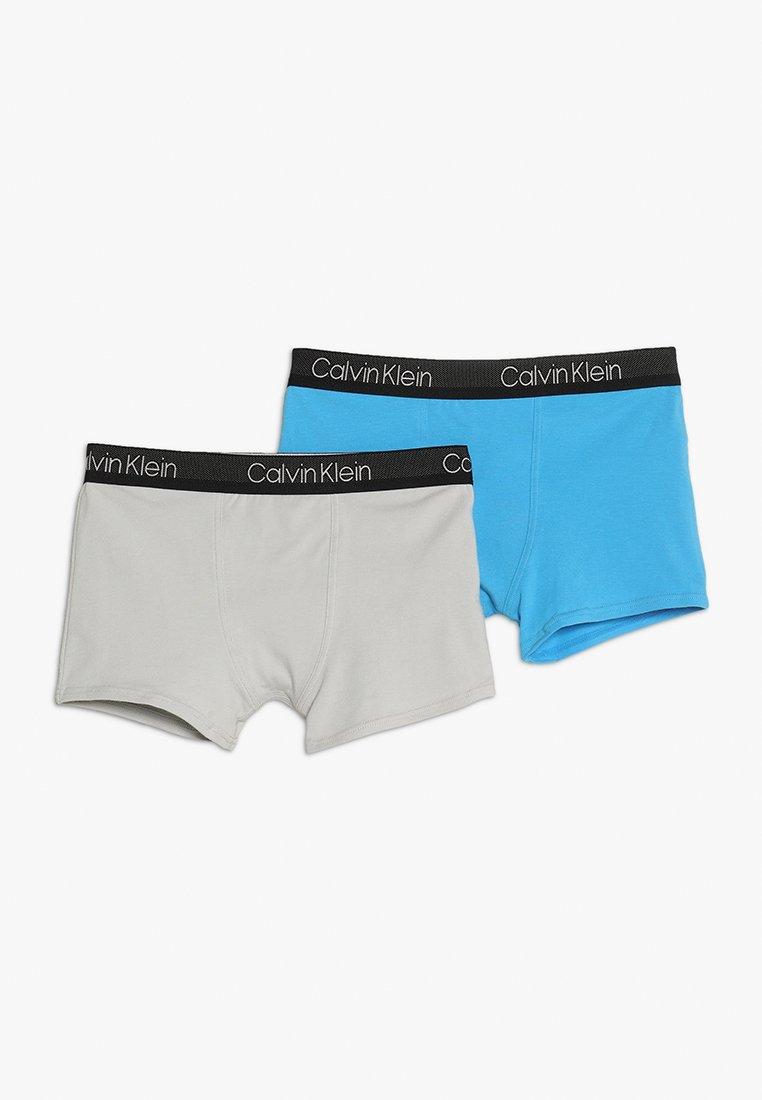 Calvin Klein Underwear - TRUNKS 2 PACK - Panties - malibu blue