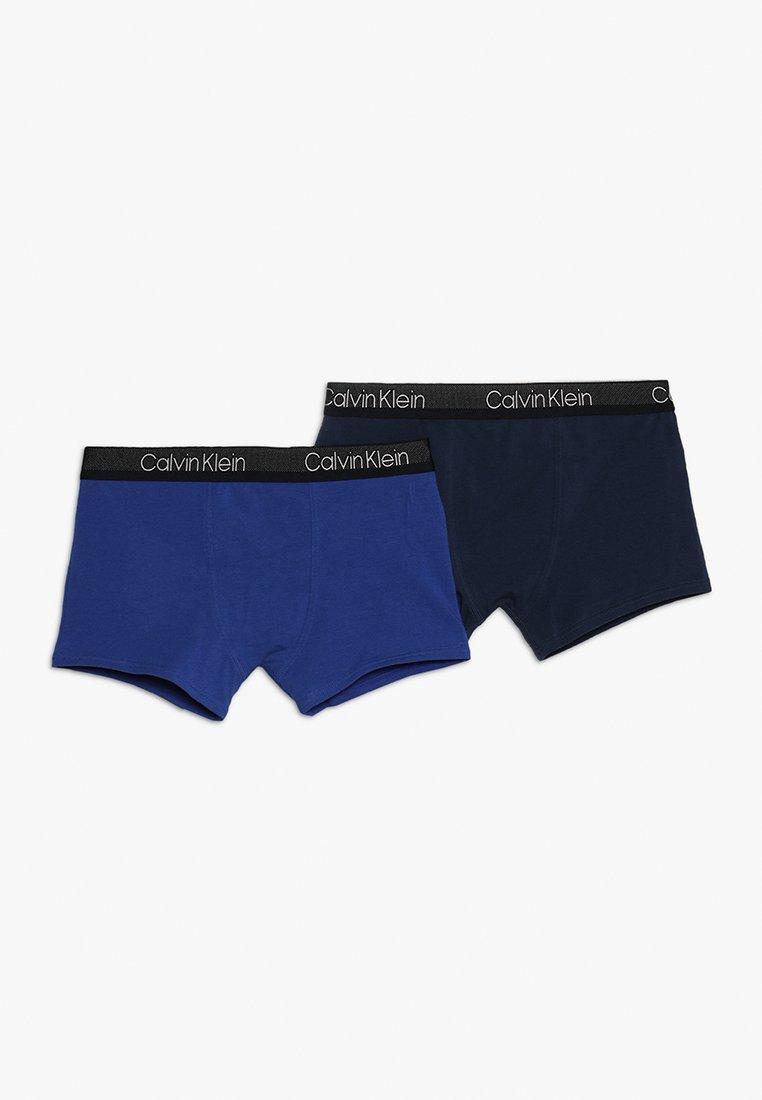 Calvin Klein Underwear - TRUNKS 2 PACK - Panties - mazarine blue/blue shadow