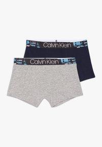 Calvin Klein Underwear - TRUNKS 2 PACK - Shorty - grey - 0